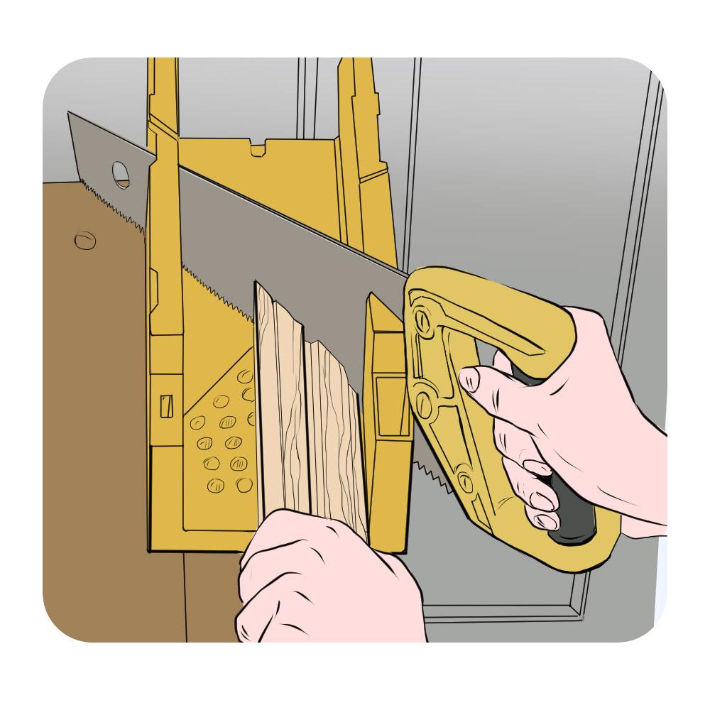 cut architrave