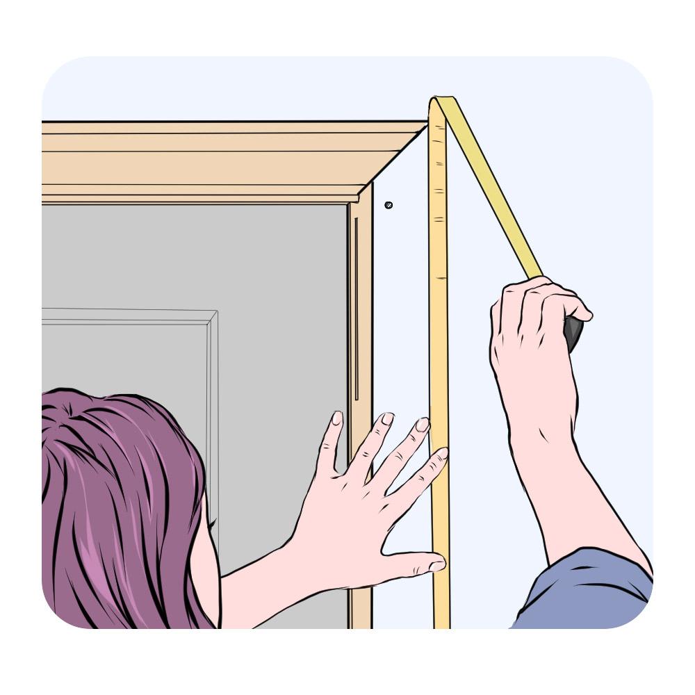 measure door frame