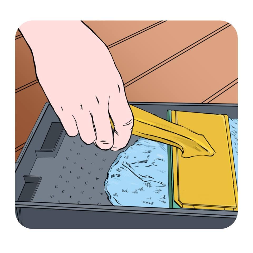 refill paint pad
