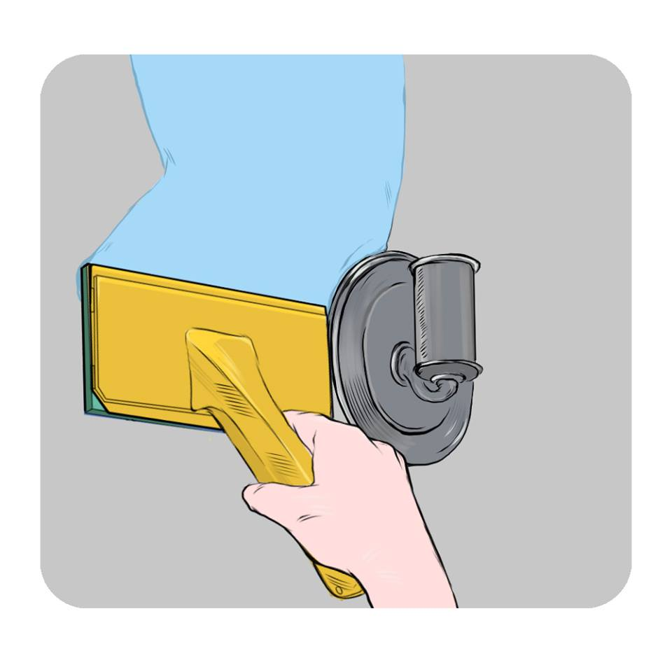 caution around light switches