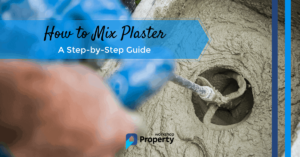 how to mix plaster