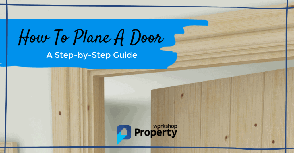 how to plane a door