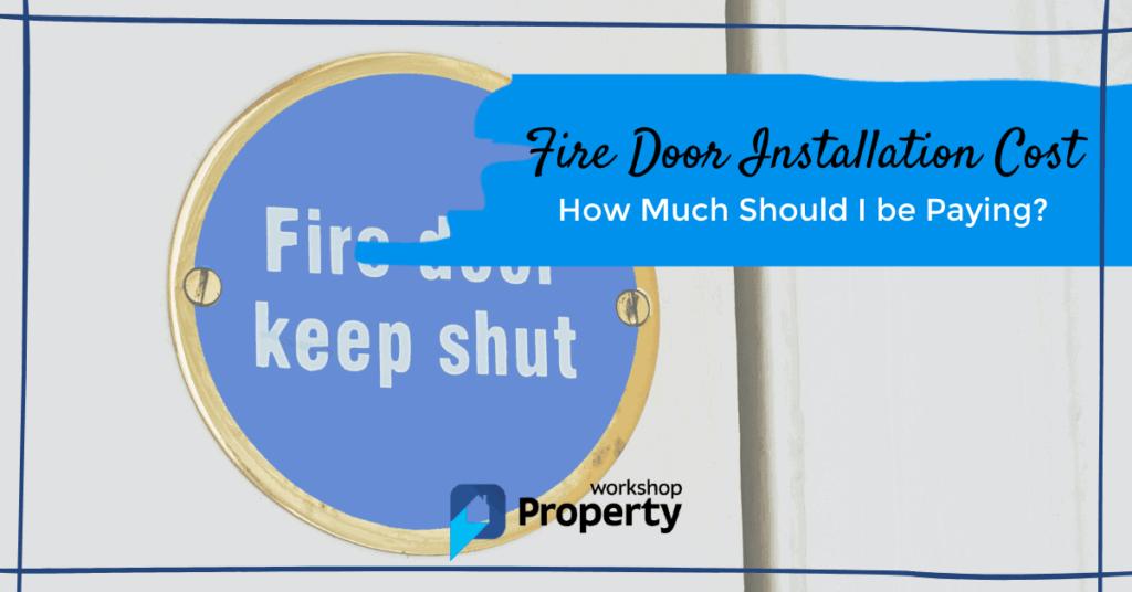 fire door installation cost