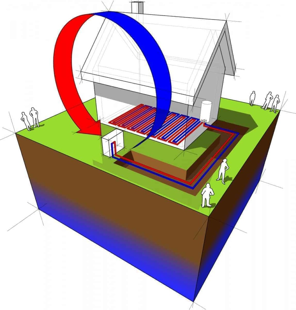 diagram of how heat pumps work