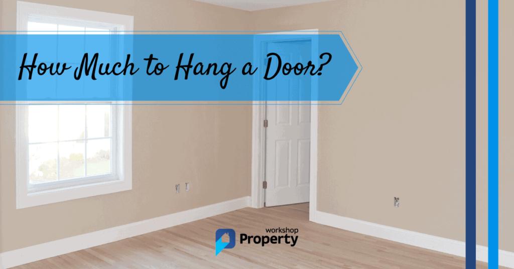 how much to hang a door