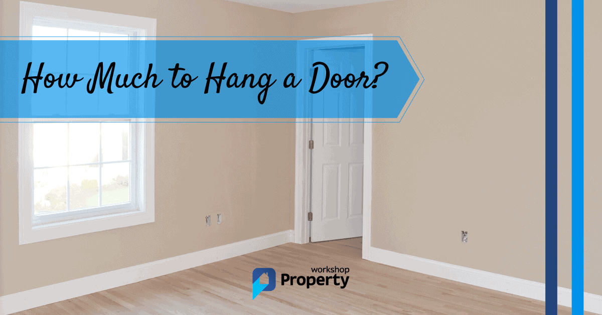 how much to hang a door