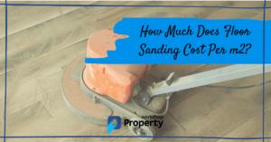 floor sanding cost per m2 uk