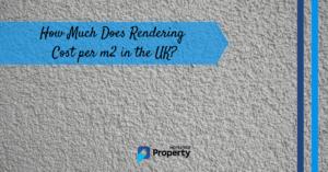 rendering cost per m2 in the uk