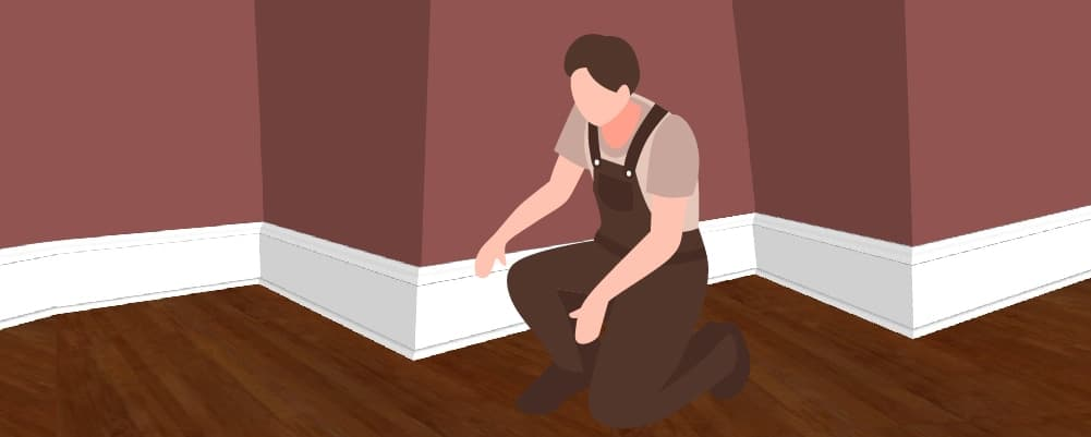 how to fit baseboards