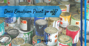does emulsion paint go off